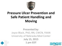 Pressure ulcer prevention and safe patient handling: Can they be combined?