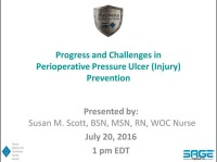 Progress and Challenges in Perioperative Pressure Ulcer (Injury) Prevention