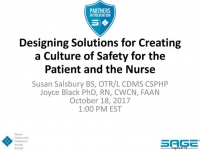 Designing Solutions for Creating a Culture of Safety for the Patient and the Nurse